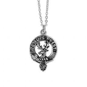Outlander Inspired Clan Fraser Pewter Pendant 9684